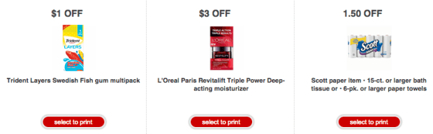 picture about Trident Coupons Printable titled Concentrate: In excess of 30 Contemporary Printable Keep Coupon codes (Help you save upon Nabisco
