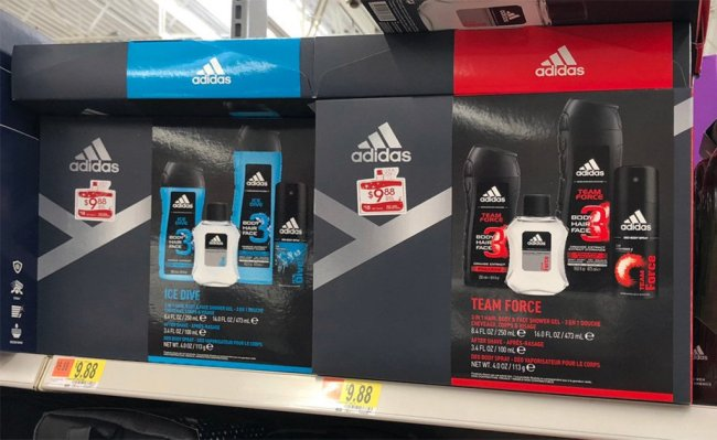 Irish Spring or Adidas Gift Sets Only $7 88 at Walmart After Cash