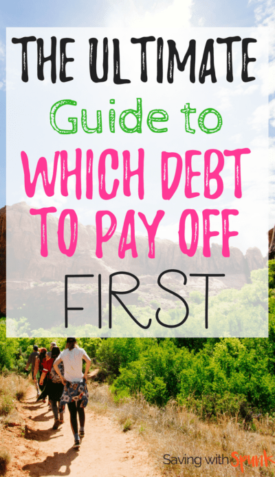 Choosing which debt to pay off first was so stressful! This article really put it into perspective.