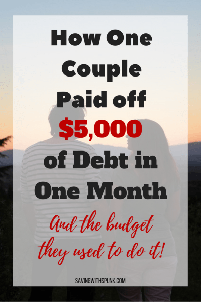 Paid off Debt