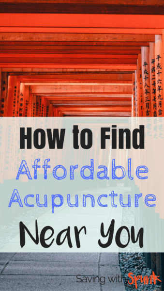 affordable acupuncture