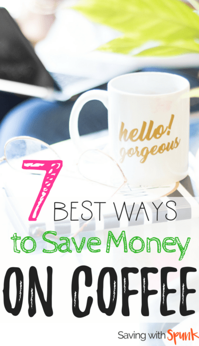 Love these tips to save money on coffee. And great iced coffee recipe. LOVE those coffee mugs!