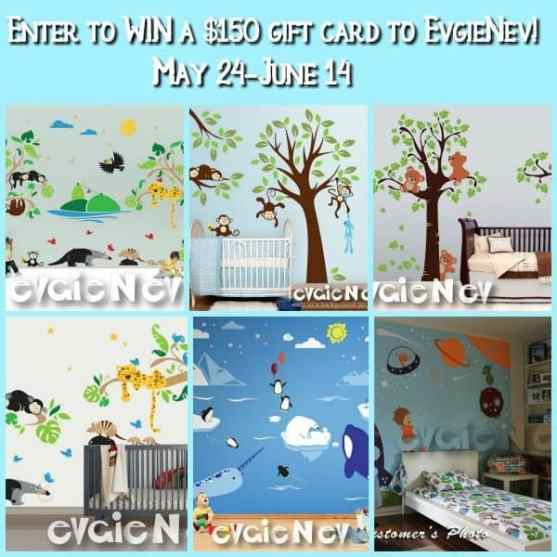 Enter to WIN a $150 gift card to EvgieNev!