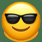Smiley lunettes de soleil - Snapchat