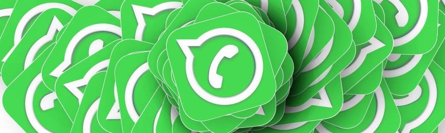 Bannière logos Whatsapp