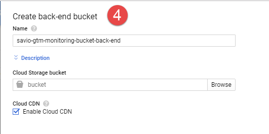 Cloud Load Balancer - Backend Bucket Settings