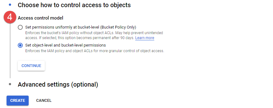 Choose how to Control Access to Objects