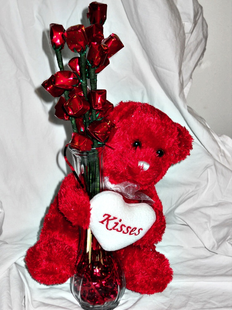 Valentines Day Teddy Bears Gift Baskets Gift Ftempo
