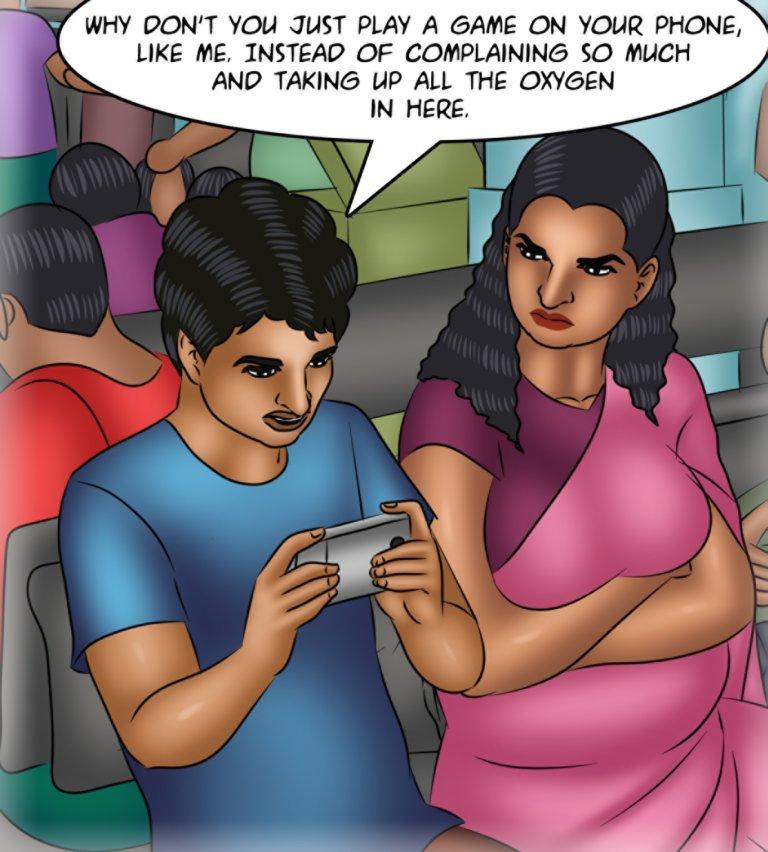 Savita Bhabhi - Episode 116 - Night Train