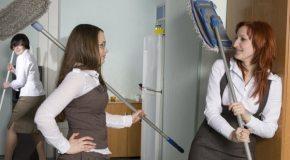 Kako očistiti radnu sobu