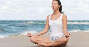 meditacija na plaži