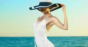 šešir za more