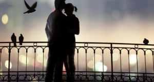zaljubljeni par