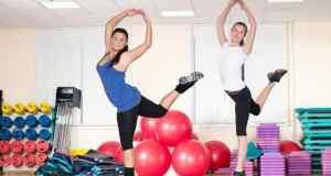 djevojke na vježbanju