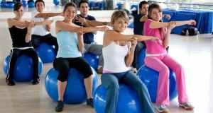 vježbanje s loptama
