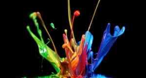 razne boje na slici