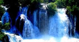 vodopad na rijeci Uni