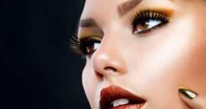 sjajan make up