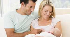 roditelji s bebom