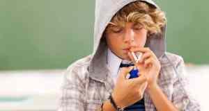 pušenje pubertet