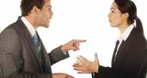 svađa između dvoje ljudi