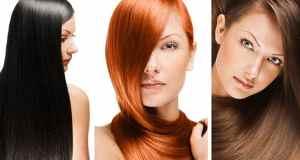 crna crvena smeđa kosa