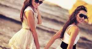 djevojke na plaži