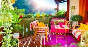 vrt na terasi