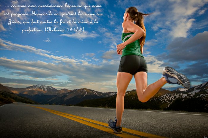 Advice to those who meet Christ through the Web - Hébrew 12.1-2 : Let us run with endurance the race...