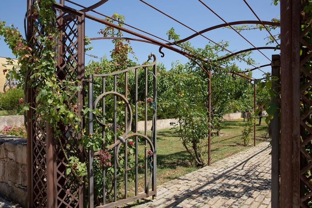 arches de jardin fer forge savoirfer