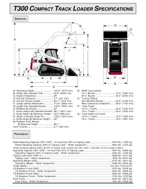 T300 Bobcat Track loaderTrailer package for sale | T300 Bobcat Track loaderTrailer package for