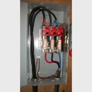 Cutler Hammer electric disconnect supplier worldwide | Used Cutler Hammer 100 amp disconnect for