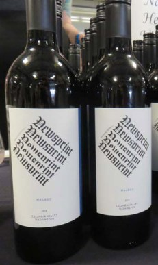 Newsprint Wines from Guardian Cellars