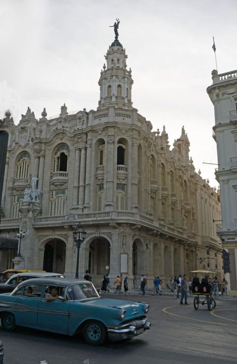 Old Havana has incredible charm, architecture and plenty of classic American cars.