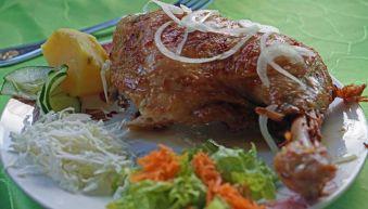 Fried chicken at El Campesino in Vinales