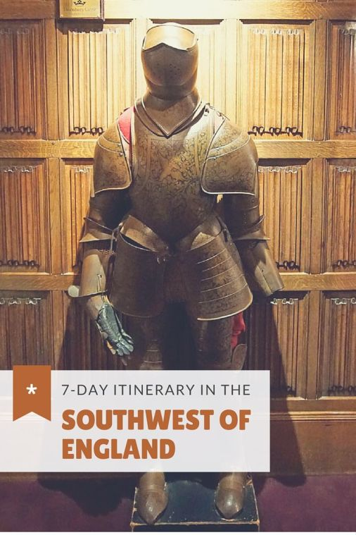 A 7-Day Itinerary of the Southwest of England