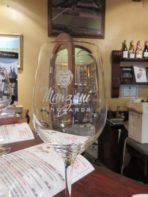 Manzoni Cellars tasting room