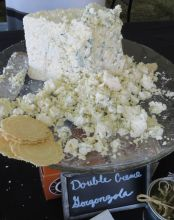 Double creme gorgonzola from Litehouse