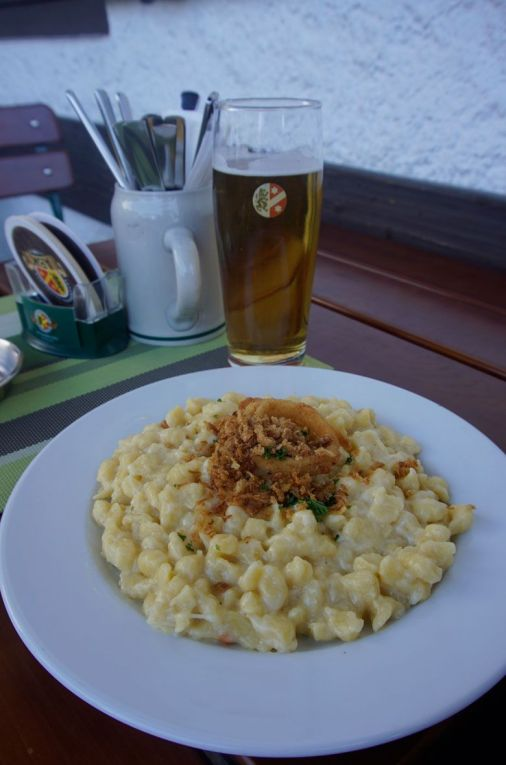 Spatzel from Restaurant Kainz