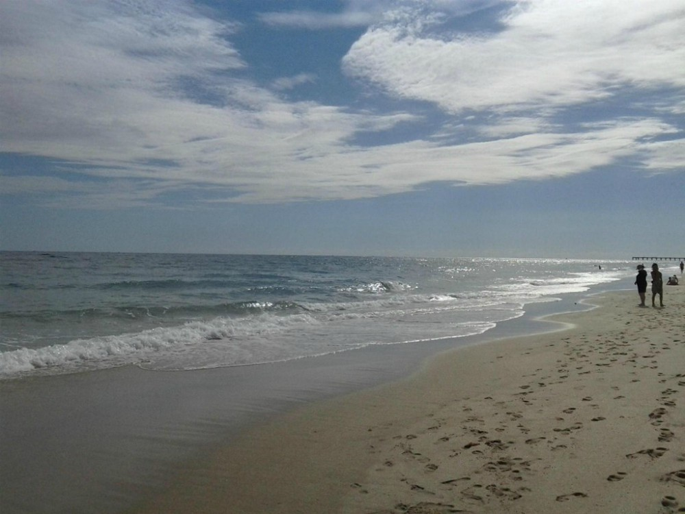 image of a beach