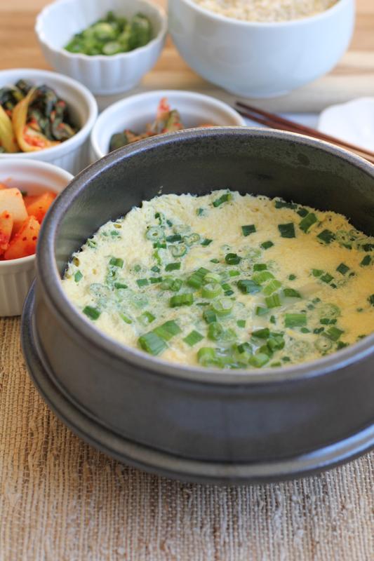 Korean Steamed Eggs