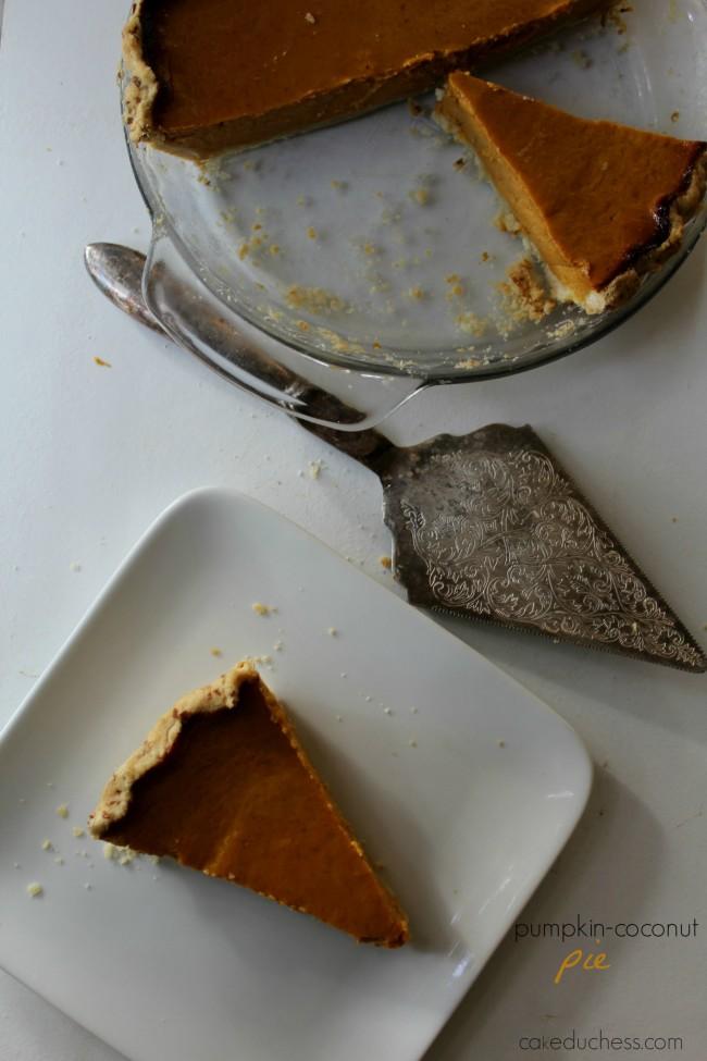 Pumpkin-Coconut Pie