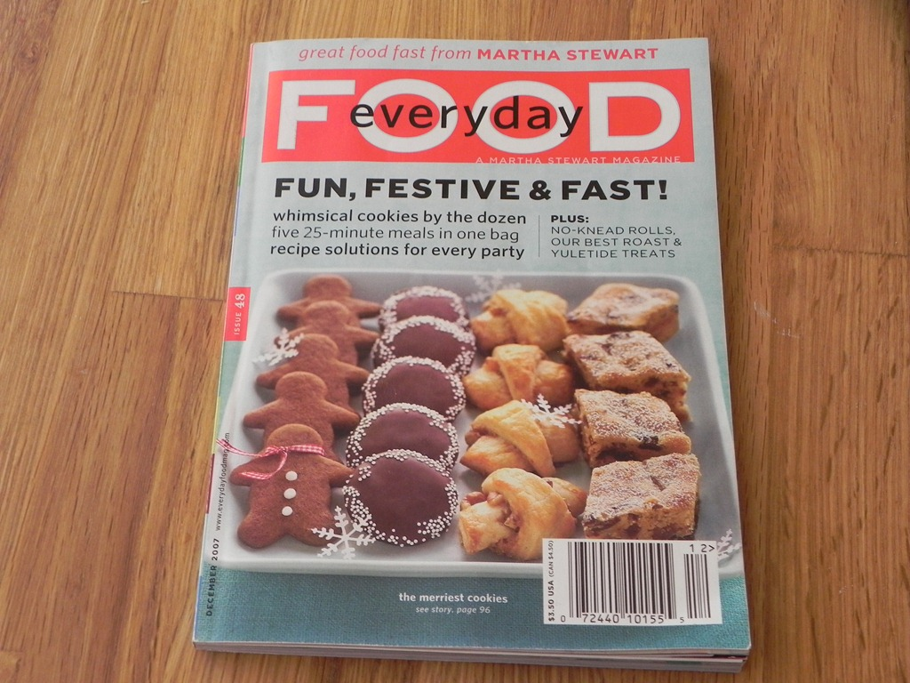 image of a food magazine