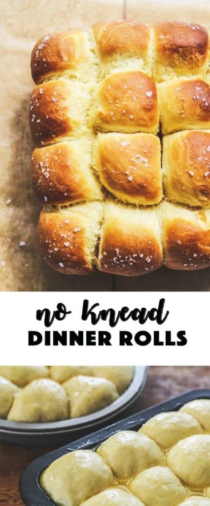 image of dinner rolls in baking pan