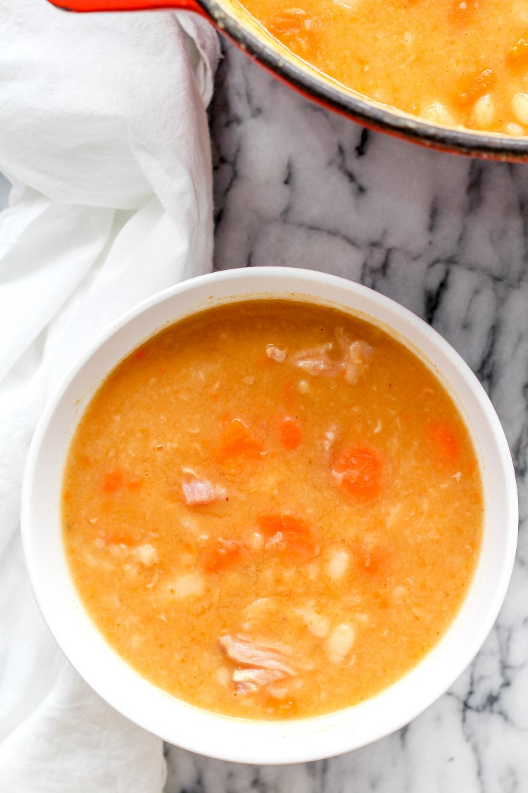 image of Hungarian ham and bean soup