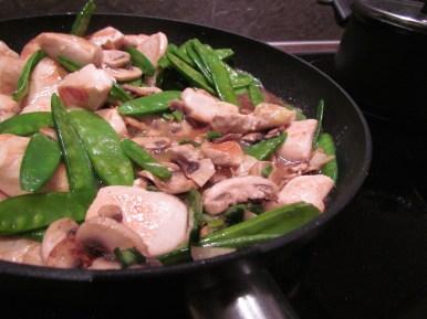 stir fry chicken