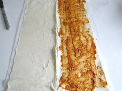 pâte feuilleté et pesto rosso | www.savormania.com
