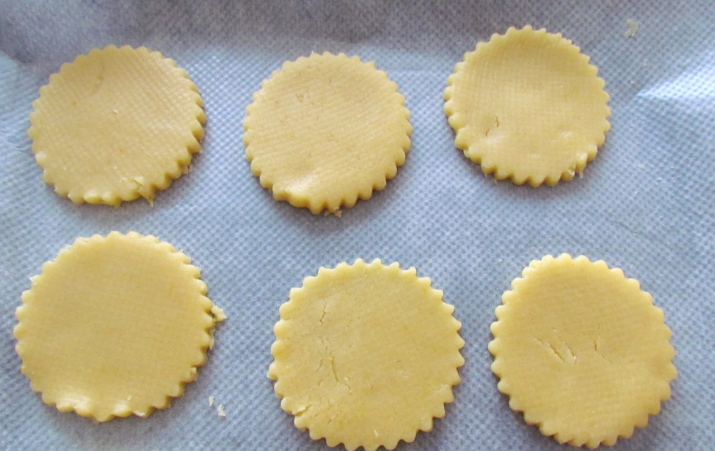 butter cookie dough