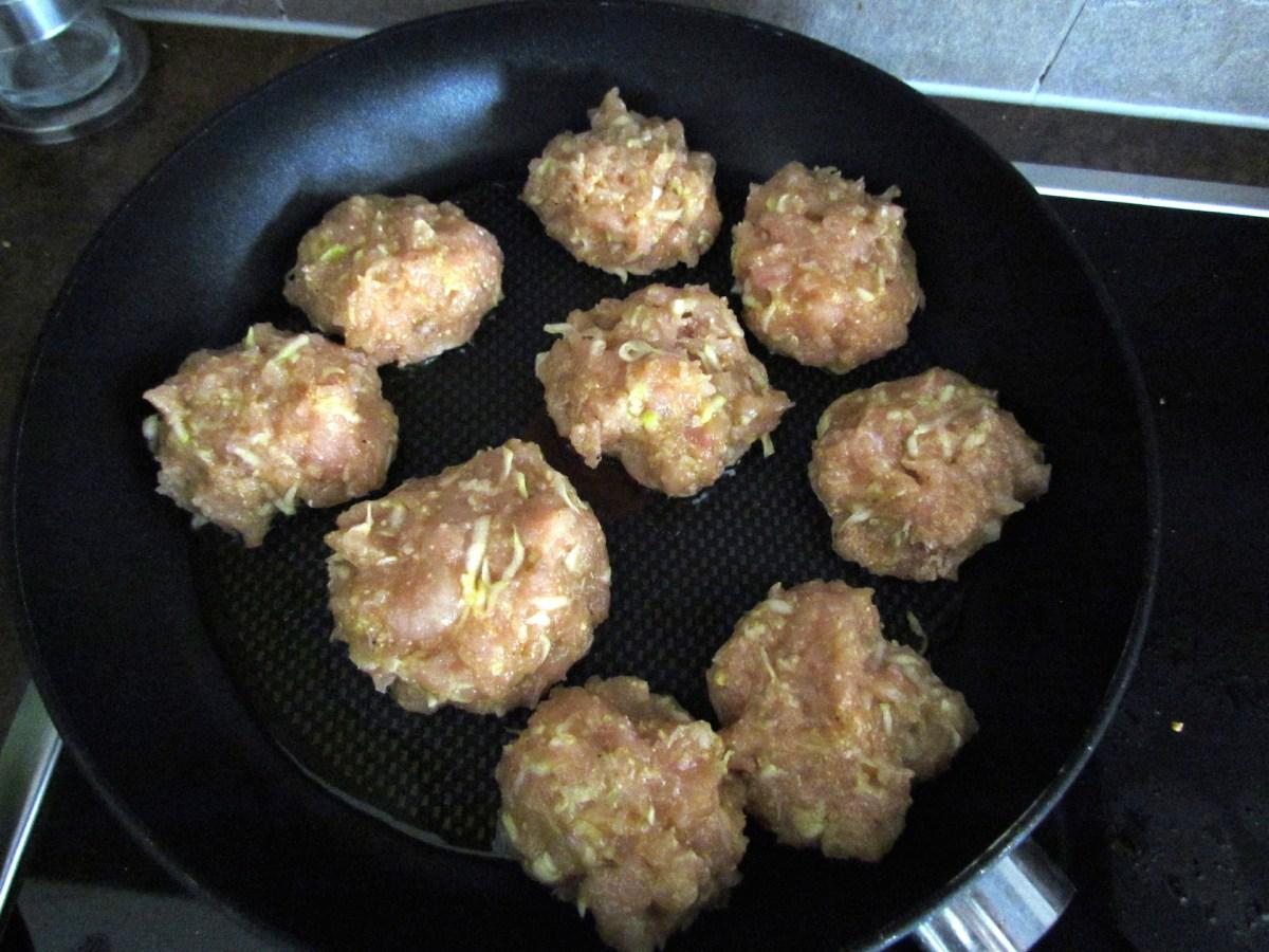 galettes de poulet