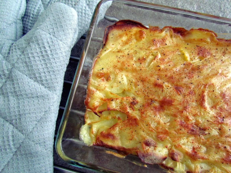 dairy-free potato gratin